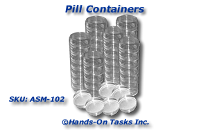 Pill Container Assembly Activity