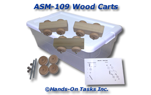 Wood Car Assembly Activity