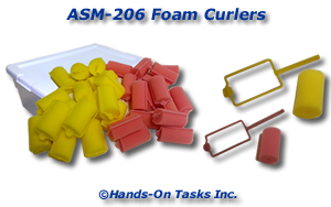 Foam Curler Assembly Activity