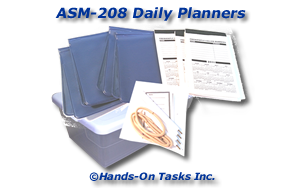 Daily Planner Assembly Activity