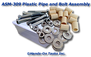 PVC Pipe and Hardware Assembly Activity