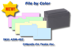 File Box Job Training Activity