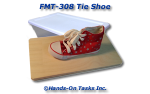 Tie Shoe Fine Motor Activity