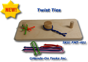 Twist Tie Fine Motor Activity