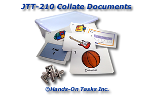 Collating Documents Job Training Activity