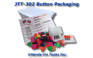 Packaging Large Buttons Job Training Activity