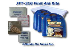 Assembling First Aid Kit Job Training Activity