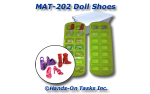 Doll Shoe Matching Activity