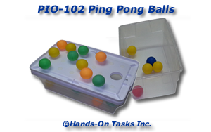 Ping Pong Ball Put-In Activity