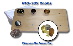 Knobs Put-On Assembly Activity