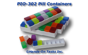 Pill Container Put-In Activity