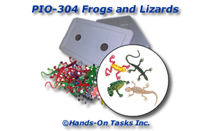 Frogs and Lizards Put-In Activity