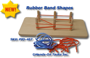 Rubber Band Fine Motor Activity
