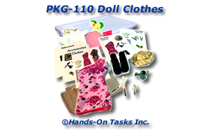 Doll Clothes Packaging Activity