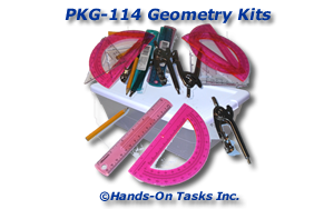 Geometry Kit Packaging Activity