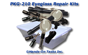 Eyeglass Repair Kit Packaging Activity
