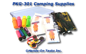 Camping Supplies Packaging Activity
