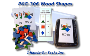 Wood Shapes Packaging Activity