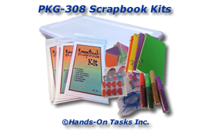 Scrapbook Kit Packaging Activity
