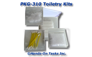 Toiletry Kit Packaging Activity