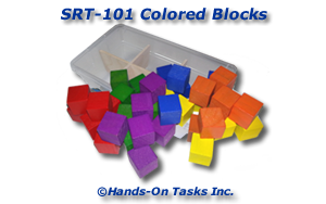 Colored Blocks Sorting Activity