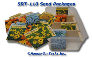 Seed Packet Sorting Activity