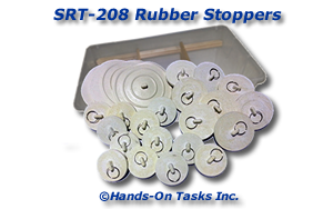 Rubber Stopper Sorting Activity