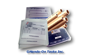 Measure and Pack Plastic Pipe Job Training Activity