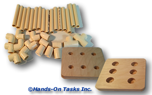 Package Plastic Pipe Job Training Activity