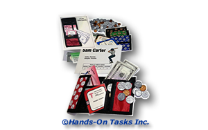 Wallet Assembly Transitional Training Activity to Help Develop Personal Skills