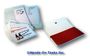 Coupon Organizer and Meal Planning Transitional Training Activity to Help Develop Personal Skills